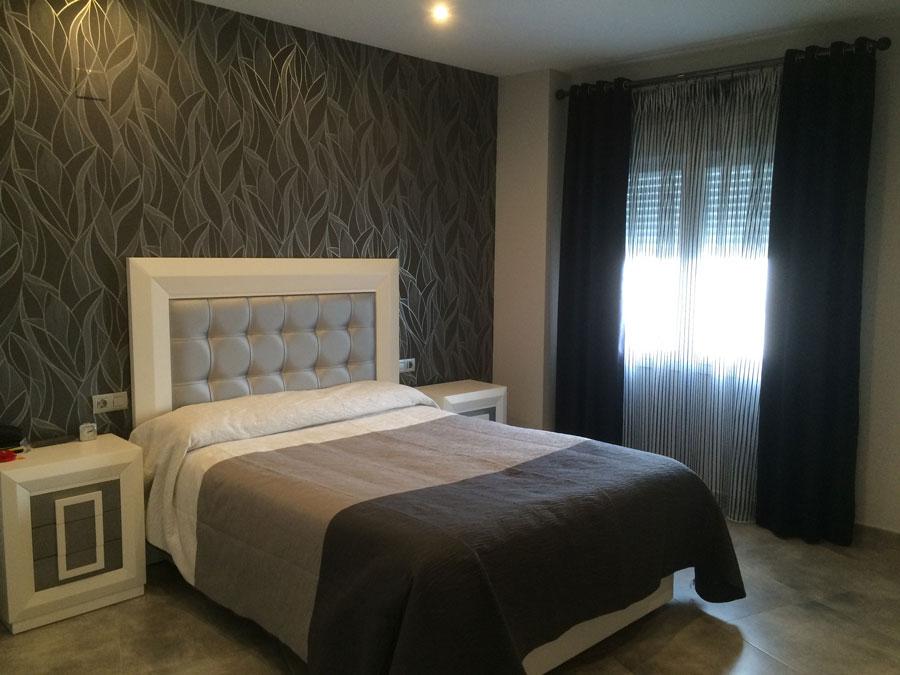 Cortinas De Dormitorio Matrimonio. Cortinas Blancas Dormitorio ...
